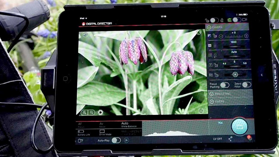 Manfrotto Digital Director open app