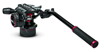 Manfrotto launches Nitrotech N8 fluid head with nitrogen piston