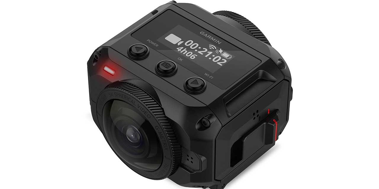 Garmin VIRB 360 boasts 5.7K video, 4 mics