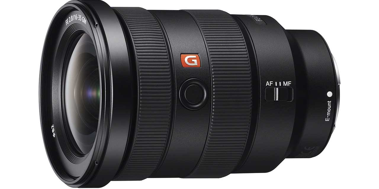 Sony launches FE 16-35mm f/2.8 GM wide-angle zoom