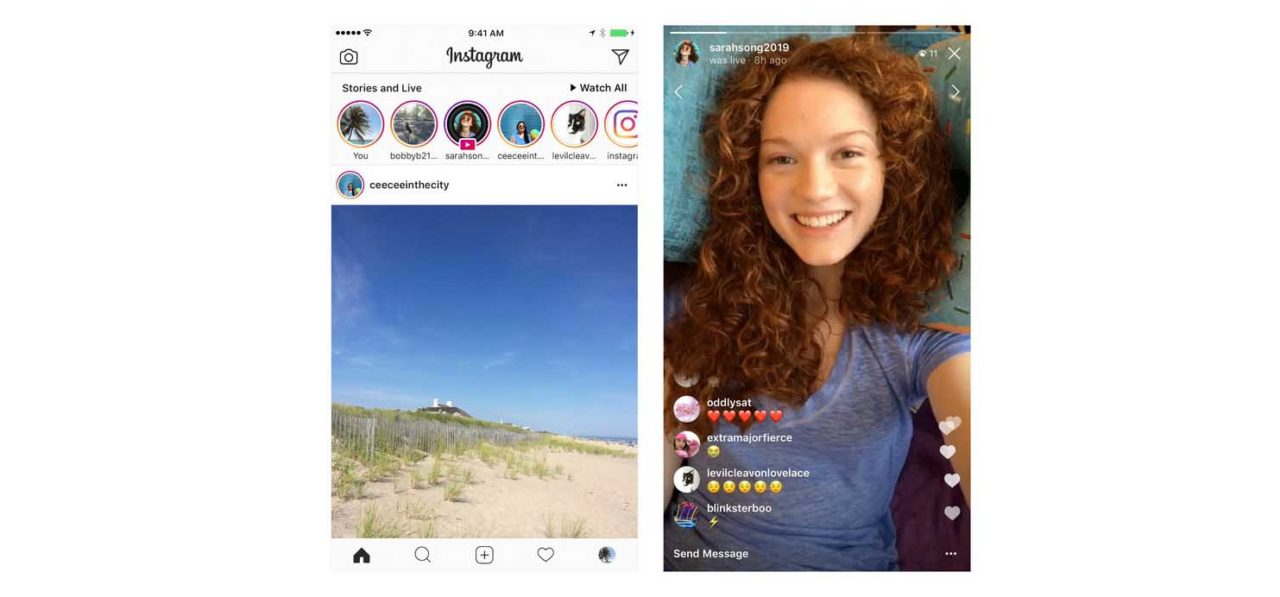Instagram Live videos can now be saved in Stories for 24 hours