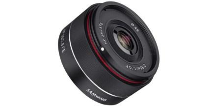 Samyang unveils AF 35mm f/2.8 FE lens