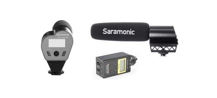 Saramonic launches VMic professional shotgun mics for DSLRs