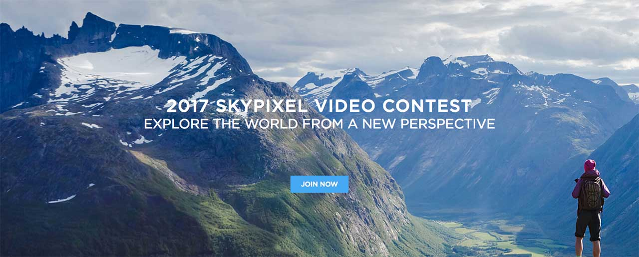 DJI, SkyPixel launch aerial video competition