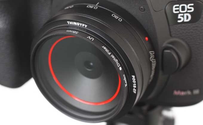 Thingyfy launches the world's first multi-aperture pinhole lens on Indiegogo