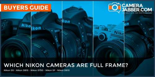 Which Nikon cameras are full frame, FX format