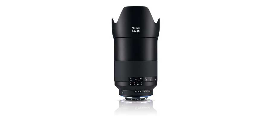 Zeiss unveils Milvus 35mm f/1.4 for full-frame Canon, Nikon DSLRs