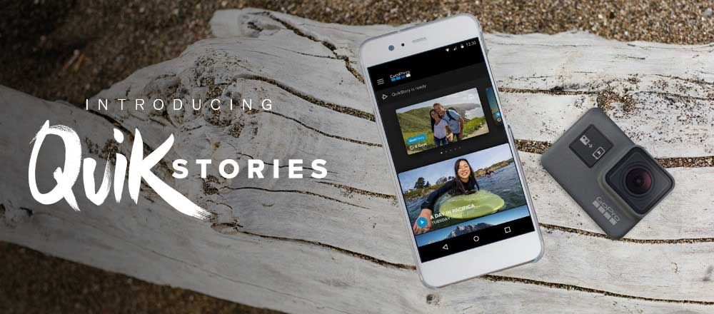 GoPro QuikStories creates edited clips with one touch