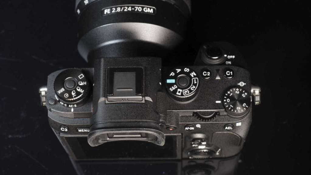 Sony A9 Review: Camera top