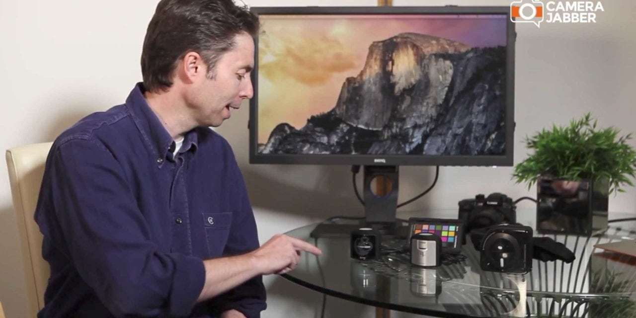 An introduction to the X-Rite colour calibration range with Ashley Karyl