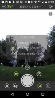 360Fly 4K Review: App Screenshot 1