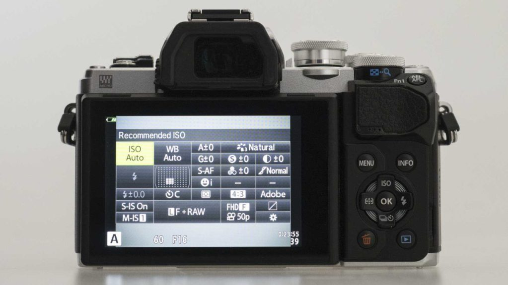 Olympus OM-D E-M10 MarkIII Review - Super Control Panel