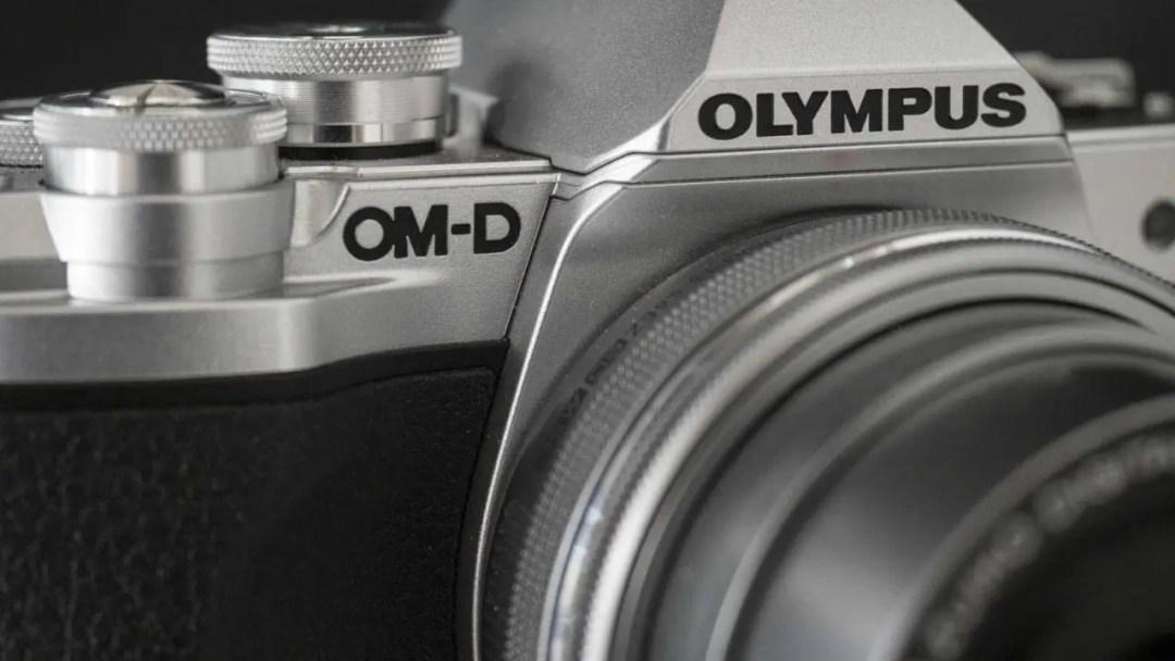 Olympus OM-D E-M10 MarkIII Review - OM-D badge