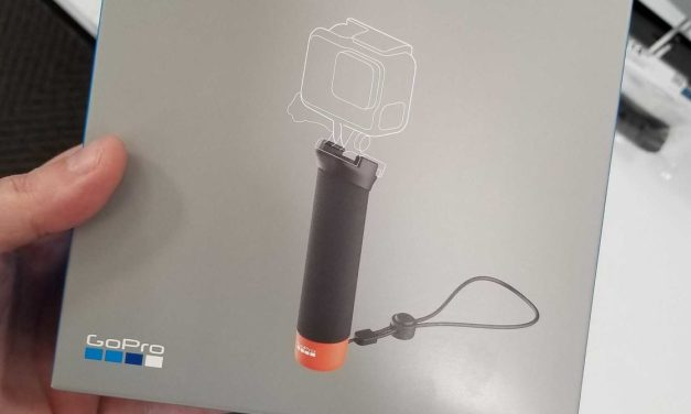 New GoPro Handler Grip with quick release now appearing in stores
