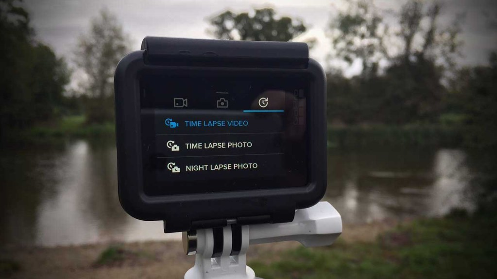 How to shoot a time lapse video with a GoPro Hero 6 Black Step 02