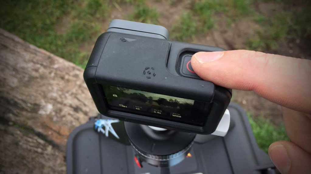 How to shoot a time lapse video with a GoPro Hero 6 Black Step 05