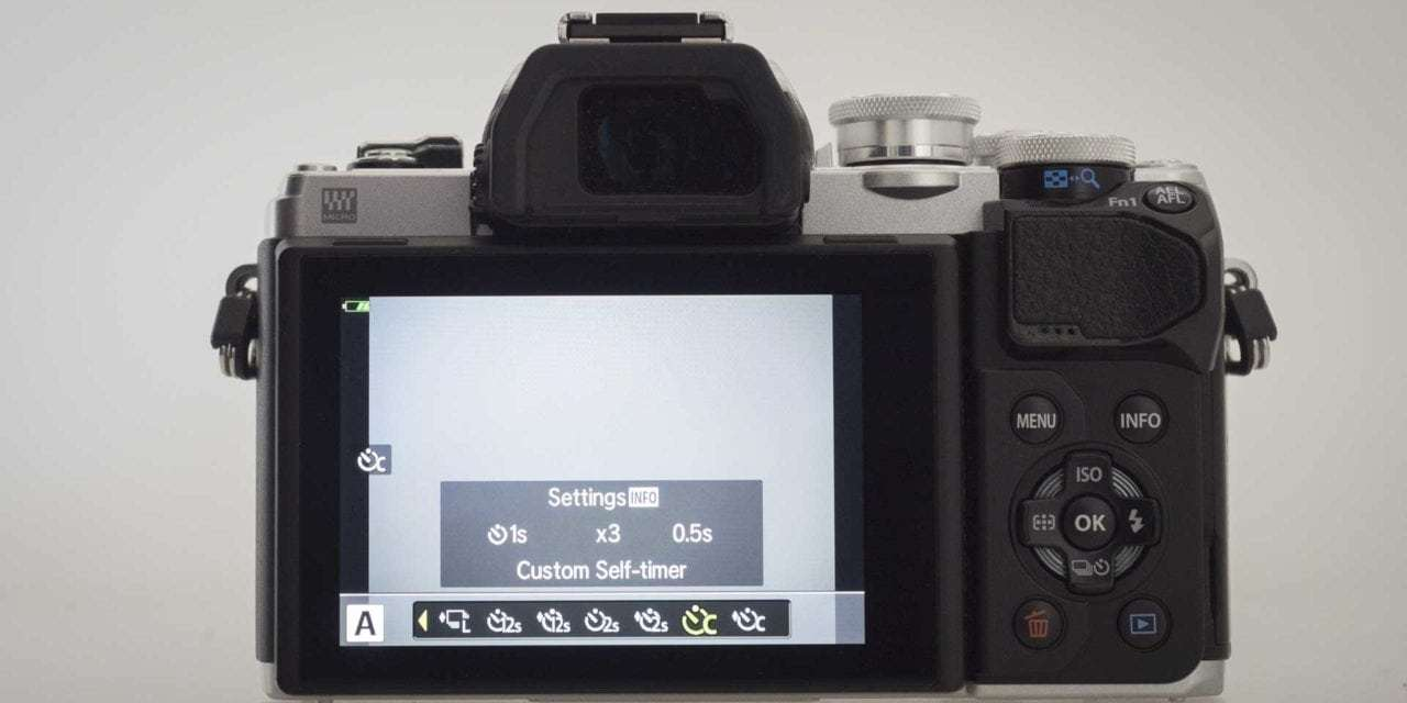 How to use your camera's custom self-timer