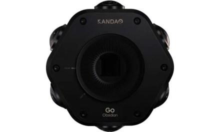 Kandao Obsidian GO shoots 8K 360 stills, 4K video