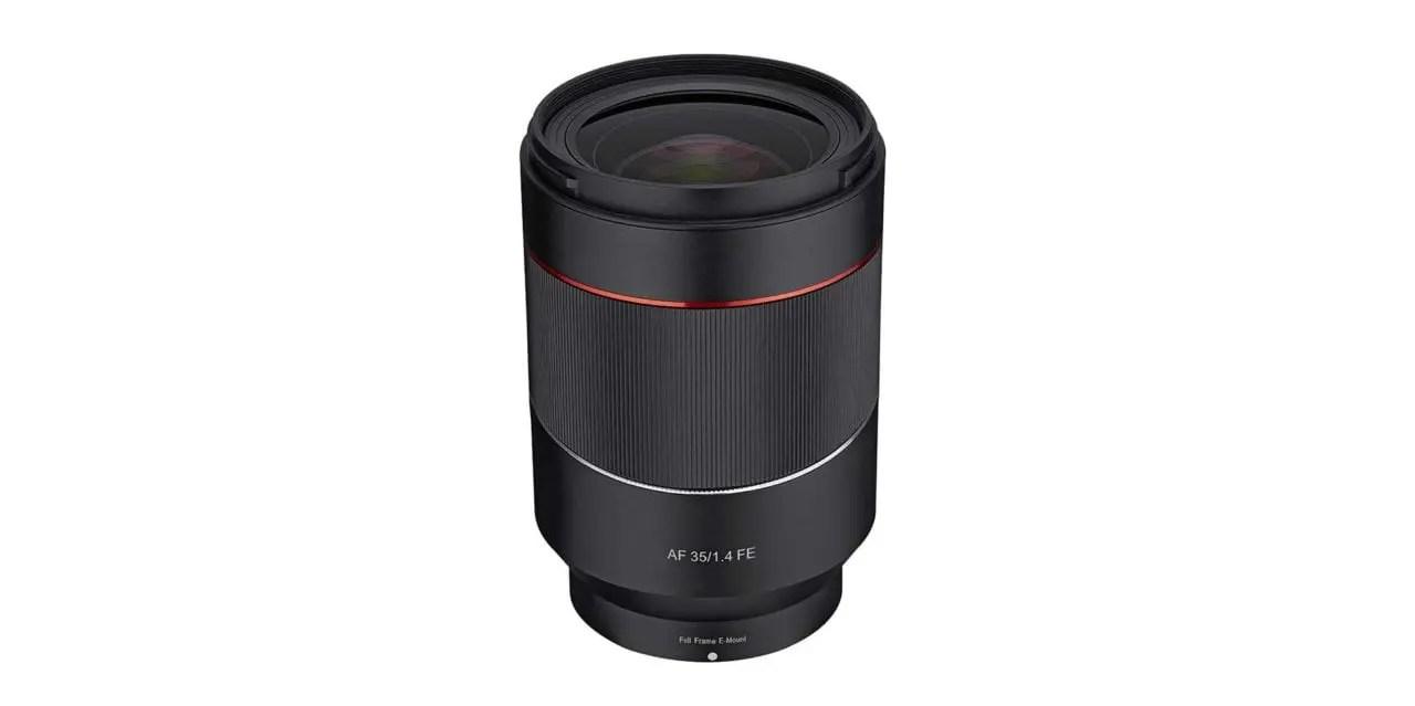 Samyang debuts AF 35mm f/1.4 FE