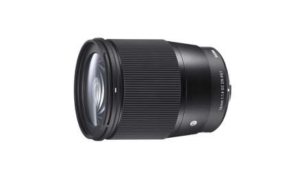 Sigma announces 16mm f/1.4 DC DN Contemporary lens for Micro Four Thirds, Sony E mount