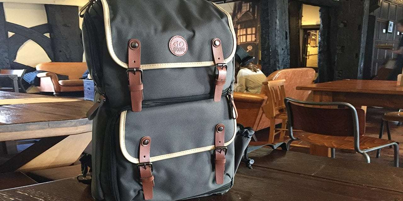 GoGroove DSLR backpack review
