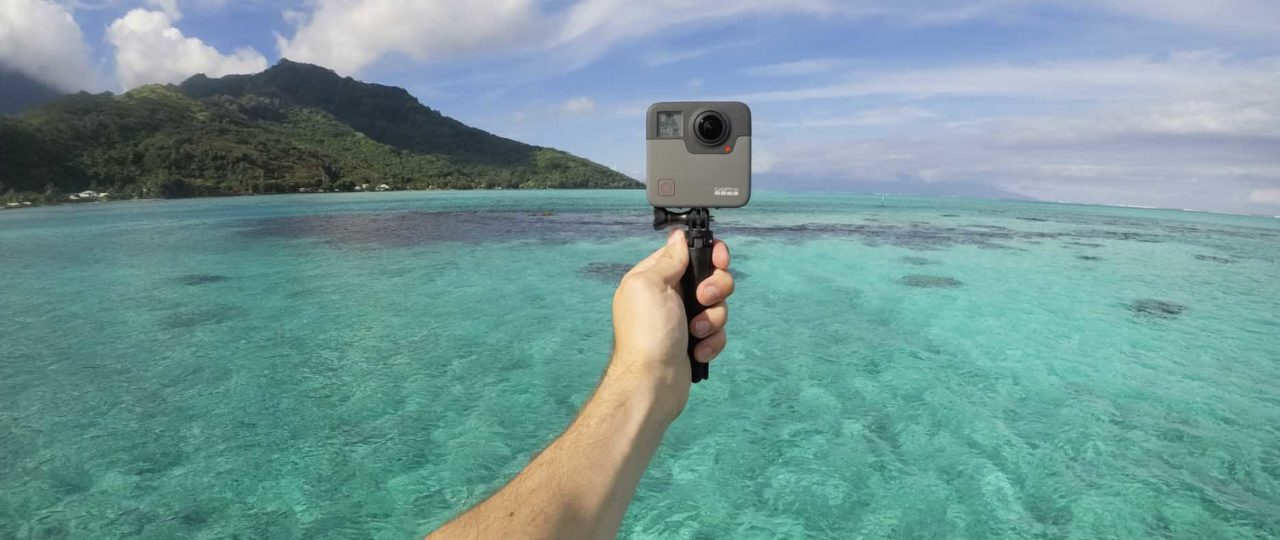 GoPro Fusion now shipping