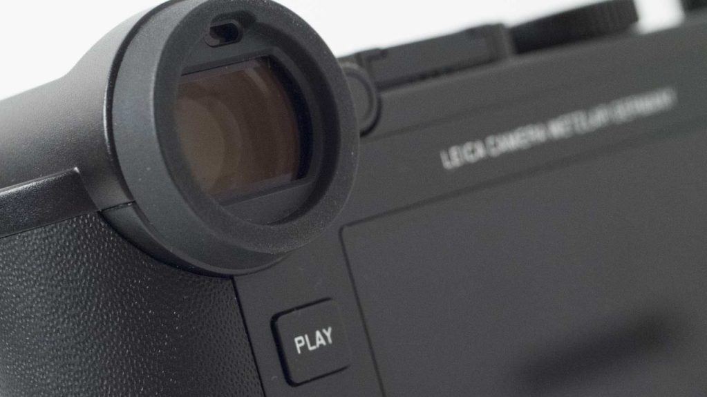 Leica CL Review: EVF