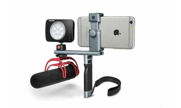 Manfrotto debuts TwistGrip System for smartphones