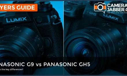 Panasonic G9 vs Panasonic GH5: Key Specifications compared