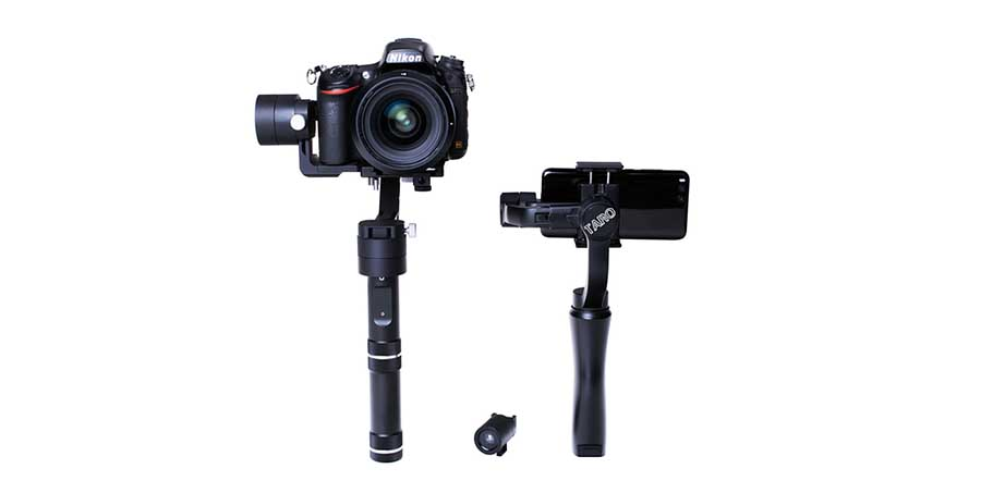 Taro auto tracker and stabilizer uses AI, infrared technology
