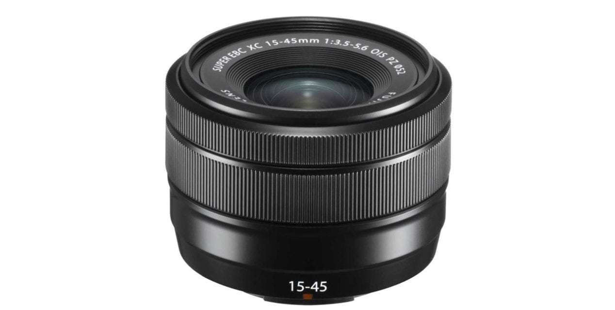 Fujifilm launches lightweight FUJINON XC15-45mmF3.5-5.6 OIS PZ