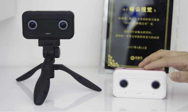 Fengyun JedEye 3D 360 camera launches on Kickstarter