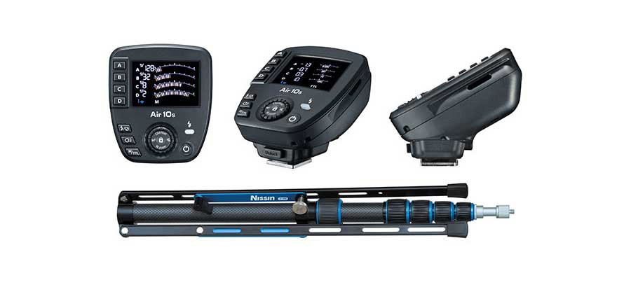 Nissin launches Commander Air 10s wireless flash control