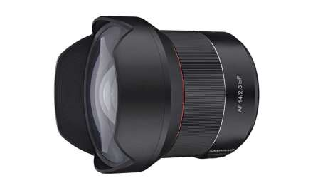 Samyang debuts AF 14mm f/2.8 EF for Canon cameras