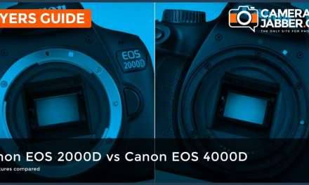 Canon EOS 2000D / Rebel T7 vs Canon EOS 4000D / Rebel T100: What are the differences?