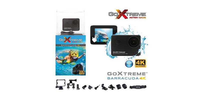 GoXtreme launches Barracuda 4K waterproof action camera