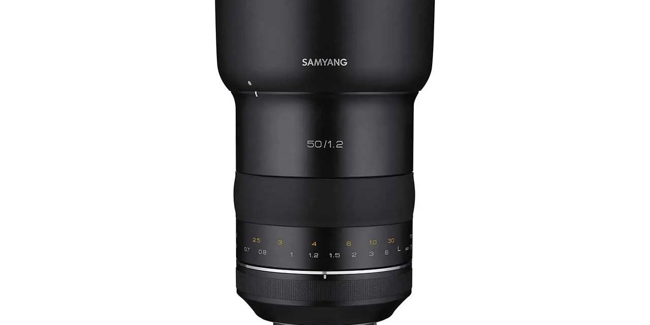 Samyang debuts XP 50mm f/1.2 for full-frame Canon DSLRs