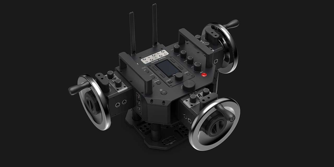 DJI launches Force Pro, Master Wheels cinema gimbal controls