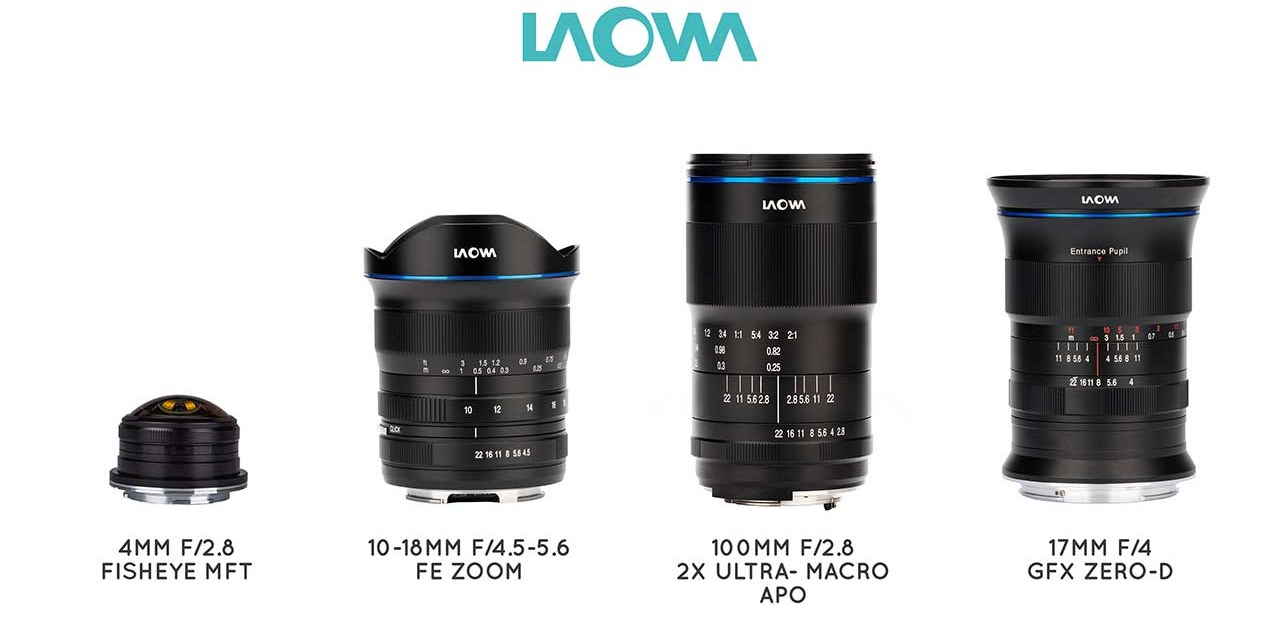 Venus Optics drops four new Laowa lenses, from 4mm to 100mm f/2.8