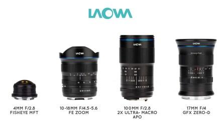 Venus Optics drops four new Laowa lenses, from 4mm to 100mm f/2.8