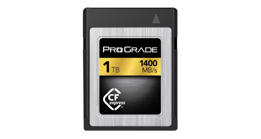 ProGrade Digital launches world's first 1TB CFexpress card