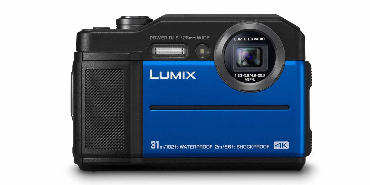 Panasonic announces FT7 tough camera that's waterproof to 102ft