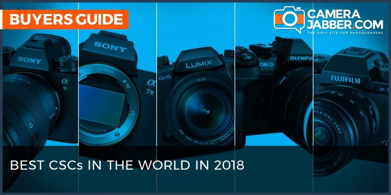 Best mirrorless cameras in the world in 2018