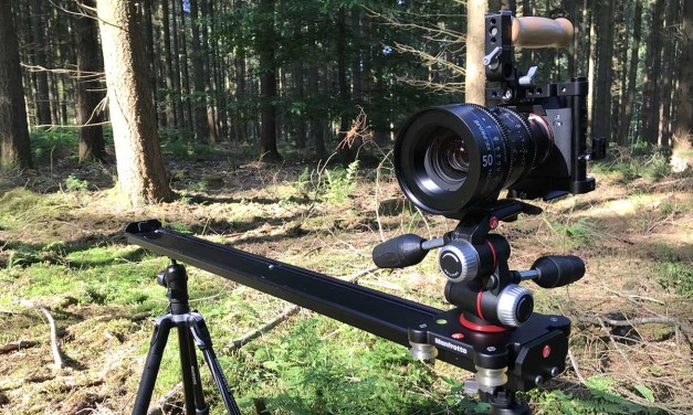 Manfrotto MVS100A Camera Slider review