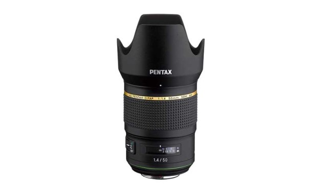 Ricoh announces HD PENTAX-D FA* 50mm f/1.4 SDM AW lens