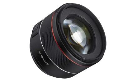 Samyang debuts AF 85mm f/1.4 EF for Canon