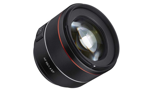 Samyang debuts AF 85mm f/1.4 EF for Canon