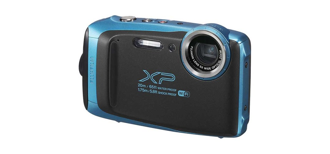 Best waterproof cameras: FujiFilm Finepix XP130
