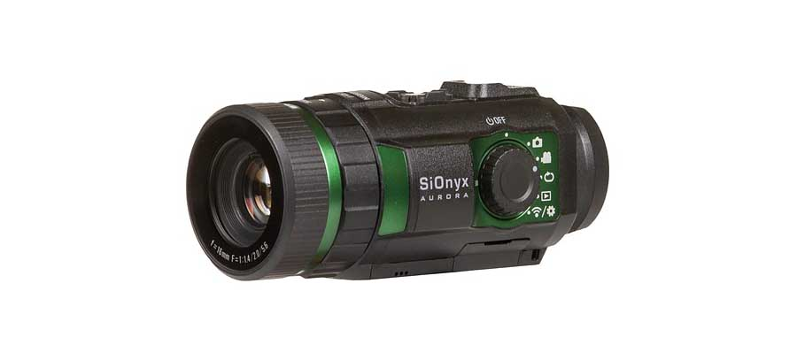 SiOnyx Aurora action camera uses night vision to shoot bright, colour footage at night