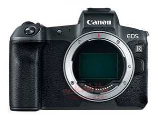 Canon EOS R full-frame mirrorless camera specifications leaked?